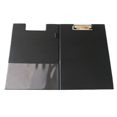 A4 Clipboard Foolscap Fold-Over Office Document Holder Filing Clip Board R4I4