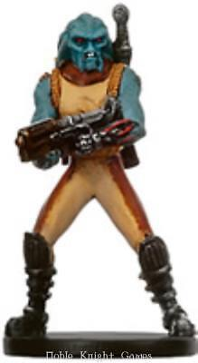 WOTC Star Wars Minis Bounty Hunter Nym NM