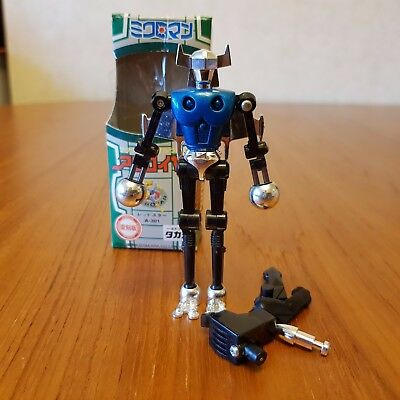 Microman Micronauts Acroyear II reissue mainly complete and with box