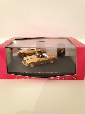 Mgb Roadster 1/43 Diecast Gold