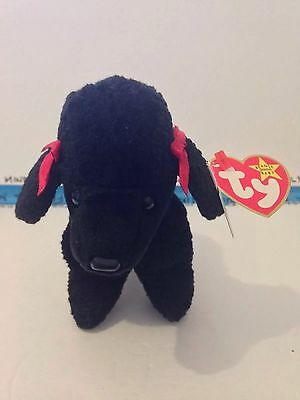 Collectible 1997/1998 Ty Beanie Gigi Dog Rare Gasport Error V-G Condition