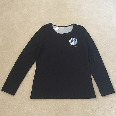 RescueCats! Sonoma High Quality T-shirt - Women's Large Black Long Sleeve