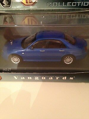 Mg Zt 1/43 Diecast Vanguards In Blue