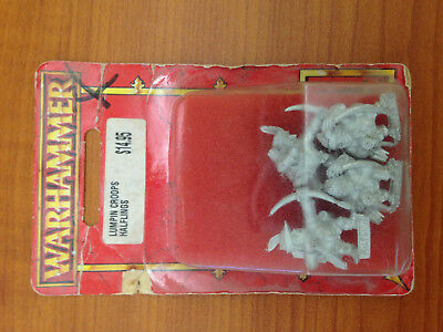 Warhammer Dogs of War Lumpin Croop's Halflings Blister with 4 metal miniatures