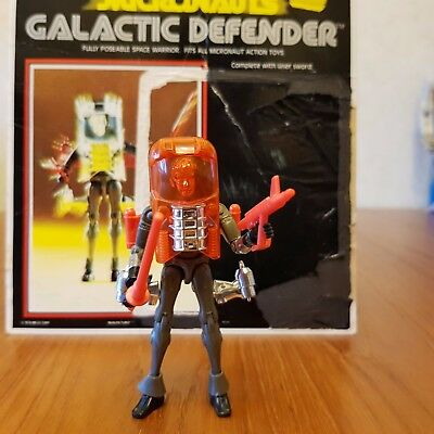 Micronauts Galactic Defender, complete, in good condition and with original card