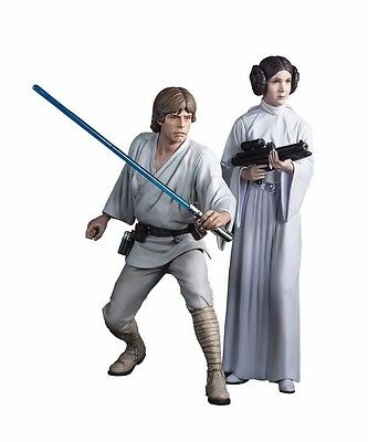 KOTOBUKIYA ARTFX+ STAR WARS LUKE SKYWALKER & PRINCESS LEIA 1/10 PVC Figure Kit