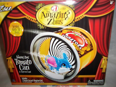 The Amazing Zhus Tomato Can & Magician Card Works With All Pets