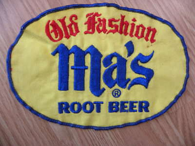 Vintage Old Fashion Ma's Root Beer Shirt or Coat Cloth Patch