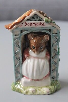 Beatrix Potter's Miss Dormouse Royal Albert 1991