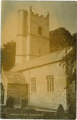 CLAWTON CHURCH Devon England Vintage Photo PC Holsworthy c1905