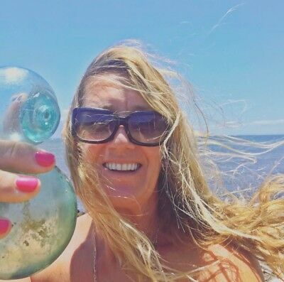 MEDICAL FUNDRAISER 14 Vintage Glass Fishing Floats found on island of Lanai