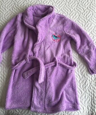 Peignoir Violet In Extenso,  Fille 8 Ans, TBE