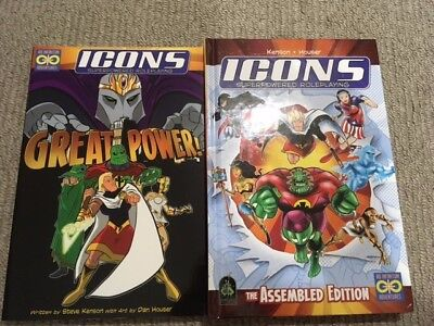 ICONS RPG + GREAT POWER! supplement, by Steve Kenson (Ad Infinitum Adventures)