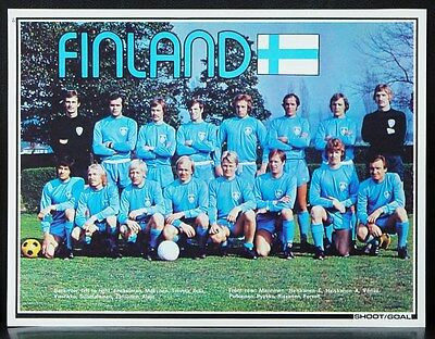 Football Team Picture Finland Shoot