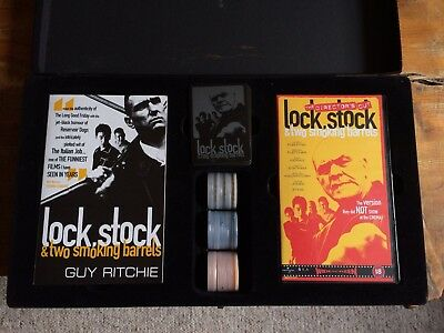 Lock Stock And Two Smoking Barrels Poker Set Script VHS Playing Cards