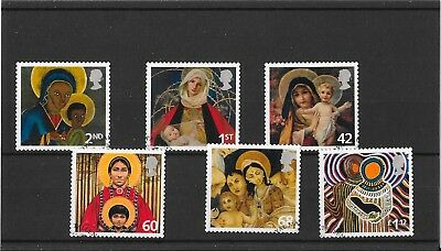 GB 2005  Christmas 2005 -  Set of Stamps - Fine Used