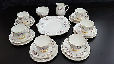 Old Royal Bone China England, Tea Set  21 pieces