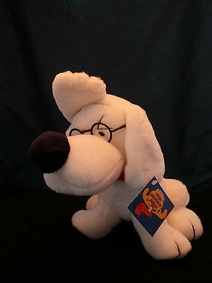 Mr. Peabody Plush Toy with Glasses with Tags
