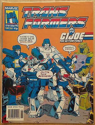 Transformers UK Comic Issue 261