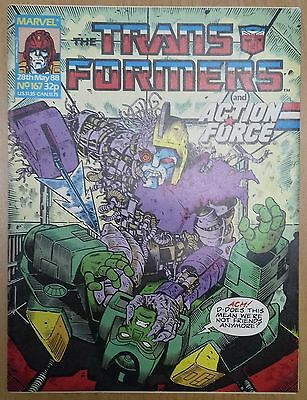 Transformers UK Comic Issue 167