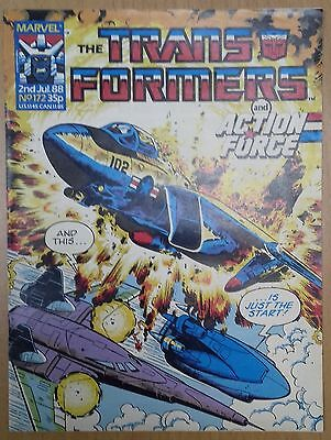 Transformers UK Comic Issue 172
