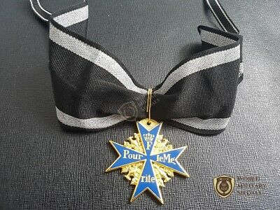WW1 German Grand Cross POUR LE MERITE Military Medal Prussia HIGHEST AWARD Gold