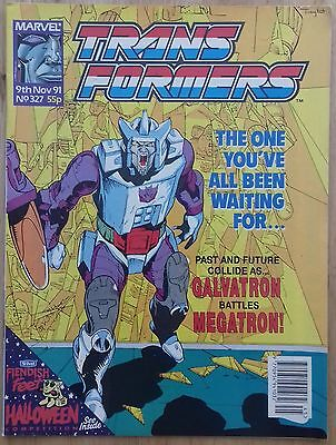 Transformers UK Comic Issue 327