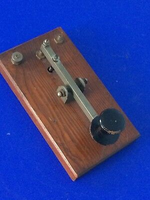 Vintage Morse Code Key Project Built