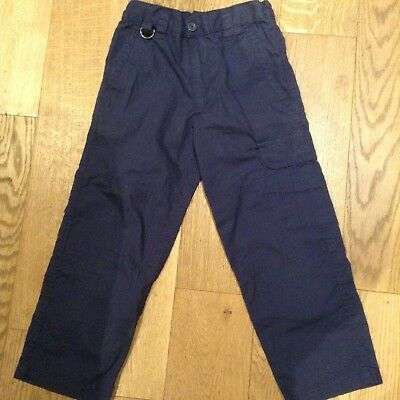 ** Scouts ** Navy Official Scout Trousers (Beavers Cubs) Age 7/8 Years