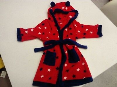 boots mini club dressing gown age 18-24 months