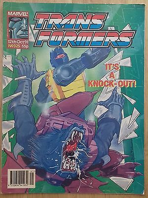 Transformers UK Comic Issue 325