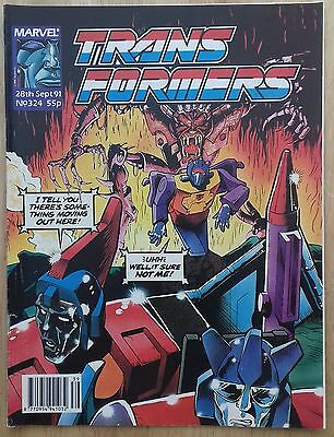 Transformers UK Comic Issue 324