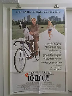 THE LONELY GUY one 1 sheet movie poster STEVE MARTIN JUDITH IVY 1984 original