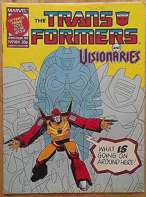 Transformers UK Comic Issue 184