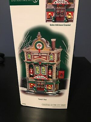 Department 56 Christmas in the City Topsy's Toys #799995