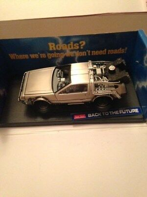 Delorean Diecast 1/18 Back To The Future