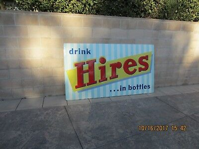 Hires Root Beer Sign(LARGE) 5x7 feet,Vintage Beverage Sign