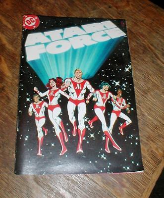Vintage 1982 ATARI FORCE Mini Comic Book Vol.1 Issue #1 from 2600 Video Game