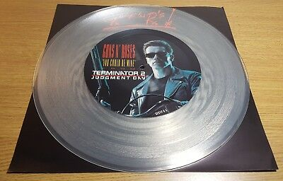 """Guns N Roses - You could be mine 12"""" single picture disc vinyl 1991"""