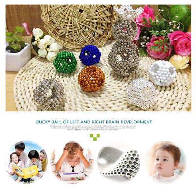 216Pcs 5mm Balls Magic Beads 3D Puzzle Ball Sphere Kids Toy New