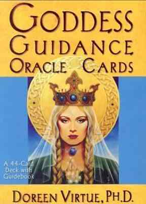 Goddess Guidance Oracle Cards and Guidebook by Doreen Virtue [Pack]