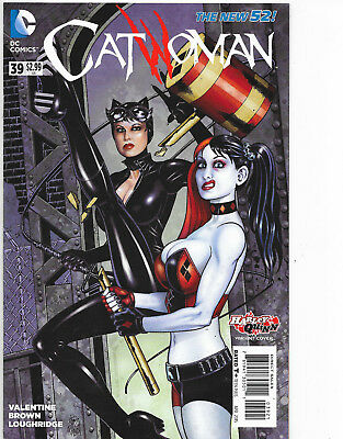 Catwoman #39 New 52 Harley Quinn Variant Cover DC Comics NM