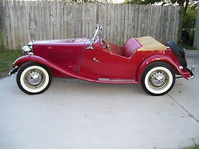 1953 MG T-Series  1953 MG TD/2 Unblievable Unrestored True Surviver In Storage 57 Years