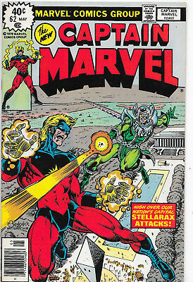 Captain Marvel #62 Bronze Age Marvel Comics Doug Moench VF/NM