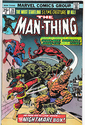Man-Thing (Vol.1) #20 Bronze Age Marvel Comics Steve Gerber VF