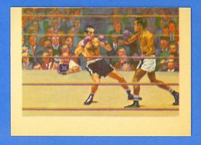 Post-War Battlers - Sugar Ray Robinson 1956 Topps R749 Adventure #22 - Mint!!!