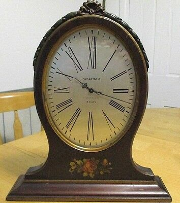 J E Caldwell & Co  (Waltham) 8 Day Upright Desk Mantle Clock