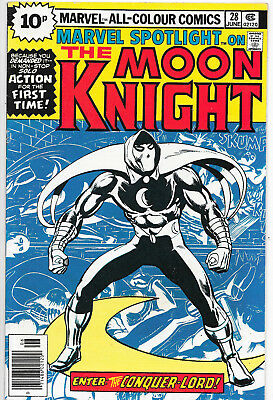 Marvel Spotlight 28 Moon Knight Bronze Age Marvel Comics 1st Solo Story VF