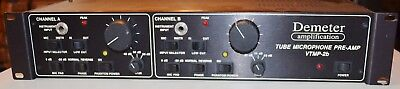 Demeter VTMP-2b Dual Channel Tube Microphone Preamp NO RESERVE AUCTION .99 Start