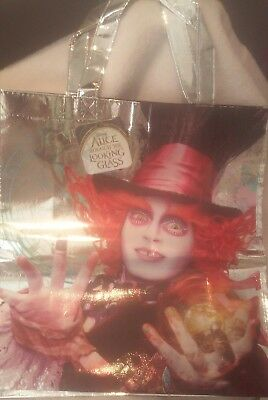 Mad Hatter/ Chesire Cat Looking For Wonderland Reusable  Tote Bag